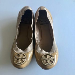 100% Authentic Tory Burch Patent Leather Flats